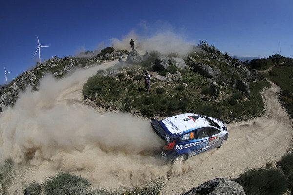 Ott Tanak (EST) / Raigo Molder (EST) Ford Fiesta RS WRC at World Rally Championship, Rd5, Rally Portugal, Day Three, Matosinhos, Portugal, 24 May 2015.