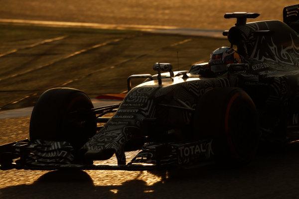 2015 F1 Pre Season Test 3 - Day 4 Circuit de Catalunya, Barcelona, Spain. Thursday  Sunday 1 March 2015. Daniel Ricciardo, Red Bull Racing RB11 Renault.  World Copyright: Sam Bloxham/LAT Photographic. ref: Digital Image _14P5501