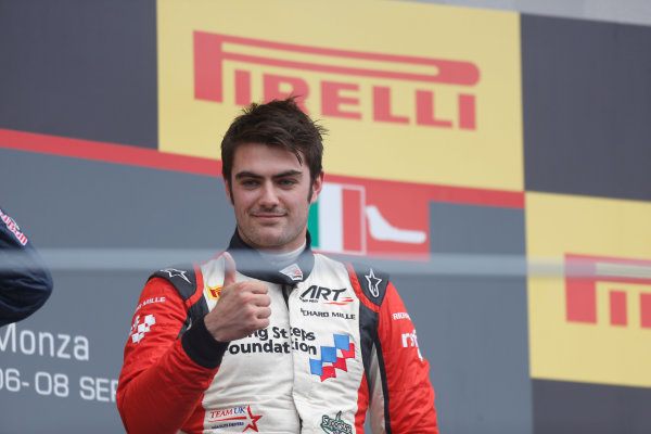 2013 GP3 Series. Round 7.  Autodromo di Monza, Monza, Italy. 8th September.  Sunday Race. Jack Harvey (GBR, ART Grand Prix) World Copyright: Andrew Ferraro/GP3 Media Service. ref: Digital Image _79P2833.JPG
