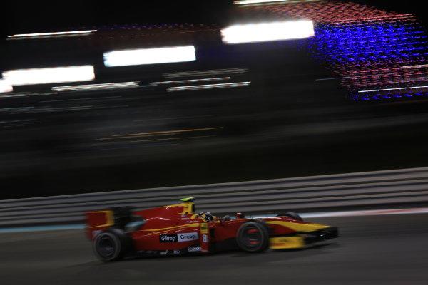 2013 GP2 Series Test 3 Yas Marina Circuit, Abu Dhabi, UAE. Day 3, Thursday 7th November 2013. Mitch Evans (NZL, Racing Engineering)  World Copyright: Sam Bloxham/LAT Photographic. ref: Digital Image IMG_6068