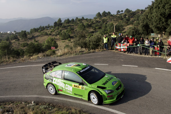 Round 11 Rally Catalunya 01-04 October 2009Paul Bird, Ford, ActionWorldwide Copyright: McKlein/LAT