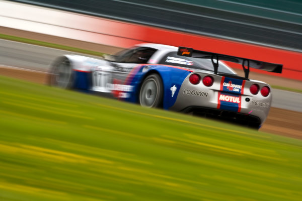 Silverstone, England. 30th April - 2nd May 2010. Arnaud Vincent / Arnaud  Peyroles (Graff Racing Corvette Z06R) Action. World Copyright: Drew Gibson/LAT Photographic. Digital Image _Y2Z3127