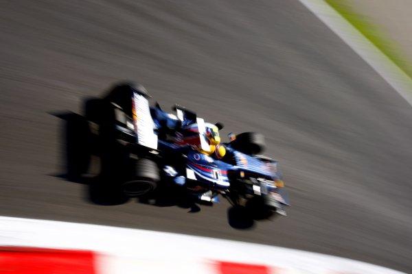 2007 Italian Grand PrixAutodromo di Monza, Monza, Italy.7th - 9th September 2007.Mark Webber, Red Bull Racing RB3. Action.World Copyright: Lorenzo Bellanca/LAT Photographicref: Digital Image _64I6856