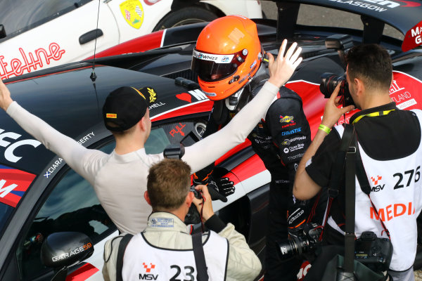 2017 British GT Championship Snetterton, 27th-28th May 2017, Sandy Mitchell / Ciaran Haggerty - Black Bull Garage 59 - McLaren 570S GT4 World copyright. JEP/LAT Images