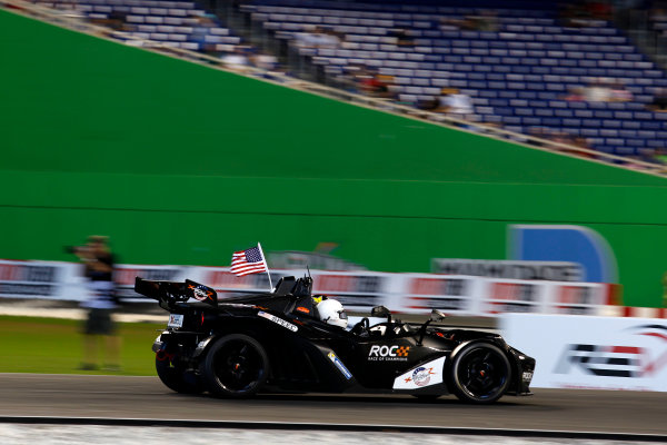 2017 Race of Champions Miami, Florida, USA Sunday 22 January 2017 Scott Speed, KTM X-Bow Comp R World Copyright: Alexander Trienitz/LAT Photographic ref: Digital Image 2017-RoC-MIA-AT2-2993