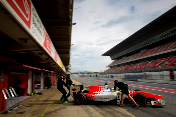 Circuit de Barcelona Catalunya, Barcelona, Spain. Monday 13 March 2017. Jordan King (GBR, MP Motorsport). Photo: Alastair Staley/FIA Formula 2 ref: Digital Image 585A6825