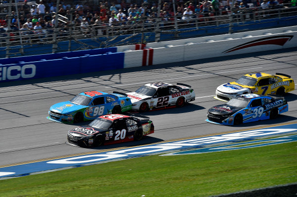 NASCAR Xfinity Series Sparks Energy 300 Talladega Superspeedway, Talladega, AL USA Saturday 6 May 2017 Erik Jones, Reser's American Classic Toyota Camry and Aric Almirola, Fresh From Florida Ford Mustang World Copyright: Rusty Jarrett LAT Images ref: Digital Image 17TAL1rj_2793