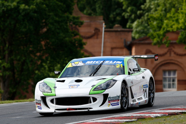 2017 Ginetta GT4 Supercup  Oulton Park, 20th-21st May 2017, Andy Wilmot (GBR) HARD Ginetta GT4 World copyright. JEP/LAT Images