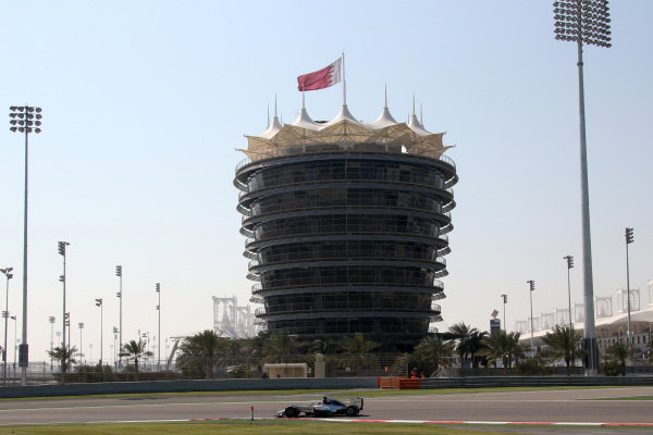 Lewis Hamilton (GBR) Mercedes AMG F1 W05. Formula One Testing, Day One, Bahrain International Circuit, Sakhir, Bahrain, Wednesday 19 February 2014.