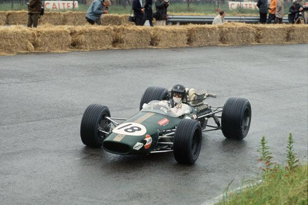 Zandvoort, Holland. 21-23 June 1968.  Dan Gurney (Brabham BT24 Repco).  Ref: 68HOL04. World Copyright: LAT Photographic