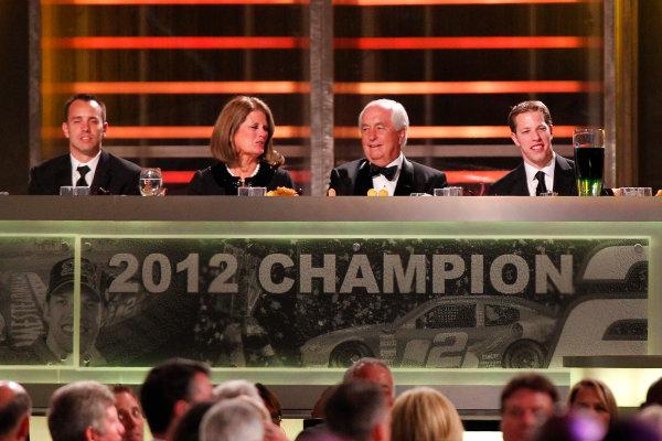 27-30 November, 2012, Las Vegas, Nevada USA Championship table.(c)2012, Russell LaBounty LAT Photo USA.