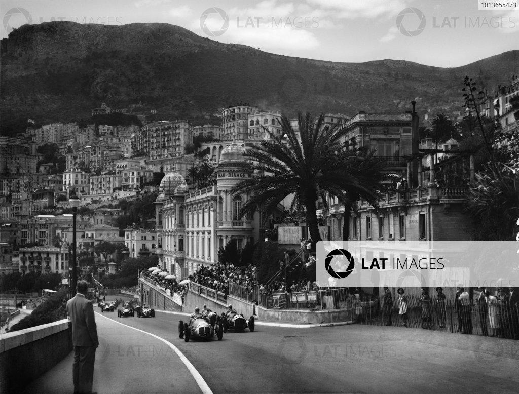 1950 Monaco Grand Prix Photo Luigi Circuit Mc