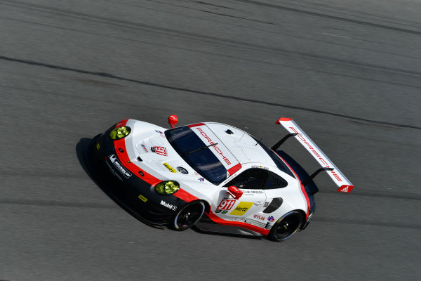 13-14 December 2016,  Daytona Beach, Florida USA 911, Porsche, Porsche 911 RSR, GTLM, Patrick Pilet, Dirk Werner ?2016, Richard Dole LAT Photo USA