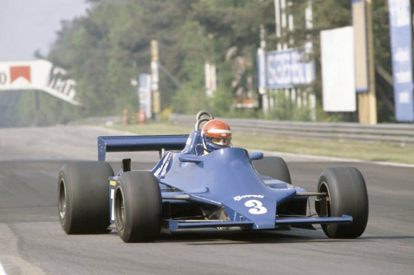 1981 Belgian Grand Prix.Zolder, Belgium. 15-17 May 1981.Eddie Cheever (Tyrrell 010-Ford Cosworth), 6th position.World Copyright: LAT PhotographicRef: 35mm transparency 81BEL07