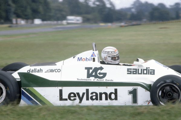 1981 Argentinian Grand Prix.Buenos Aires, Argentina. 10-12 April 1981.Alan Jones (Williams FW07C-Ford Cosworth), 4th position.World Copyright: LAT PhotographicRef: 35mm transparency 81ARG14