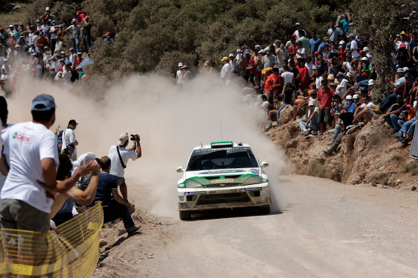 2005 FIA World Rally Champs. Round eightAcropolis Rally 23rd - 26th June 2005 Toni Gardemeister, Ford, Action.