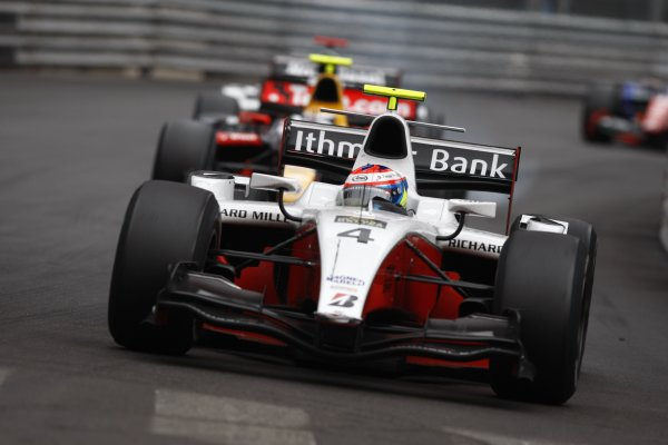2008 GP2 Series. Round 3. Saturday Race.  Monte-Carlo, Monaco. 24th May 2008.Romain Grosjean (FRA, ART Grand Prix). Action. World Copyright: Andrew Ferraro/GP2 Series Media Service.ref:__H0Y6587 jpg