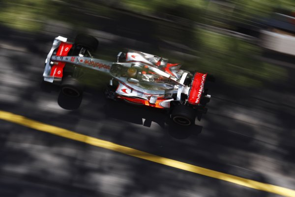 2008 Monaco Grand Prix - ThursdayMonte Carlo, Monaco.22nd May 2008.Lewis Hamilton, McLaren MP4-23 Mercedes. Action. World Copyright: Steven Tee/LAT Photographic.ref: Digital Image _77A8524