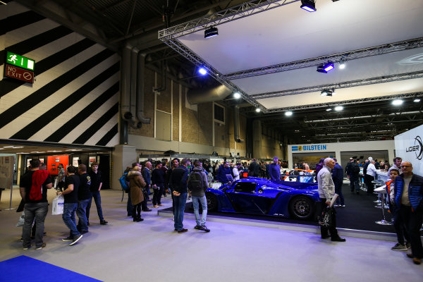 Autosport International Exhibition. National Exhibition Centre, Birmingham, UK. Saturday 13th January 2018. The Ligier stand.World Copyright: James Roberts/JEP/LAT Images Ref: JR2_5292