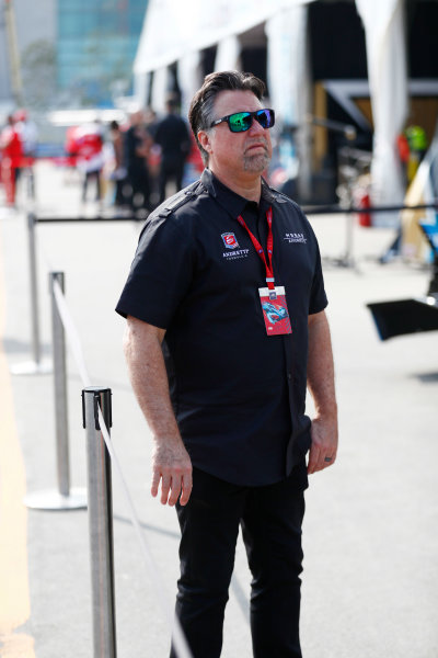 2017/2018 FIA Formula E Championship. Round 2 - Hong Kong, China. Sunday 03 December 2017. Michael Andretti. Photo: Sam Bloxham/LAT/Formula E ref: Digital Image _W6I7440