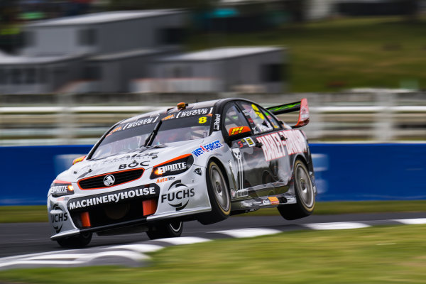 2017 Supercars Championship Round 14.  Auckland SuperSprint, Pukekohe Park Raceway, New Zealand. Friday 3rd November to Sunday 5th November 2017. Nick Percat, Brad Jones Racing Holden.  World Copyright: Daniel Kalisz/LAT Images  Ref: Digital Image 031117_VASCR13_DKIMG_1073.jpg