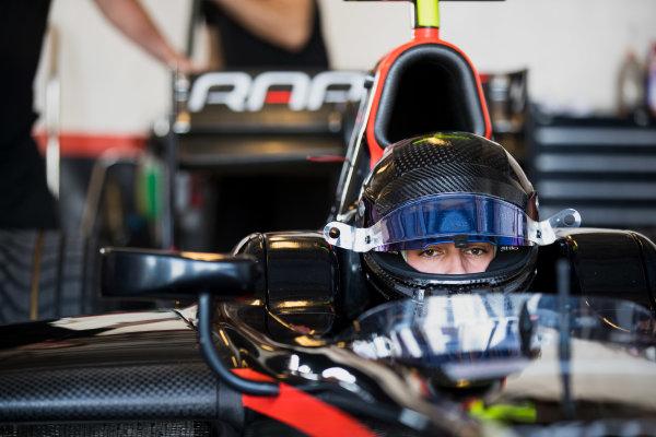 2017 FIA Formula 2 Test 3. Yas Marina Circuit, Abu Dhabi, United Arab Emirates. Thursday 30 November 2017. Rene Binder (AUT, Rapax).  Photo: Zak Mauger/FIA Formula 2. ref: Digital Image _O3I3196