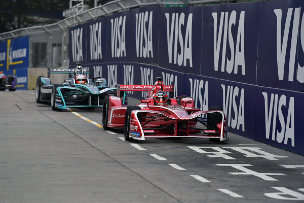 2017/2018 FIA Formula E Championship. Round 1 - Hong Kong, China. Saturday 02 December 2018. Jerome D'Ambrosio (BEL), Dragon, Penske EV-2. Photo: Mark Sutton/LAT/Formula E ref: Digital Image DSC_8381