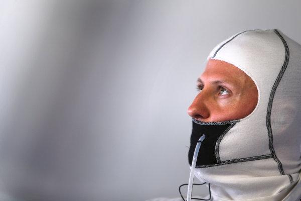 Autodromo Nazionale di Monza, Monza, Italy. 7th September 2012. Michael Schumacher, Mercedes AMG.  World Copyright: Steve Etherington/LAT Photographic ref: Digital Image SNE23520 copy