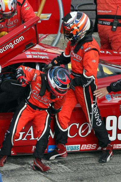 10-11 August, 2012, Watkins Glen, New York USAA driver change pit stops or the #99 Chevrolet Corvette DP of ALex Gurney and Jon Fogarty.(c)2012, R D. EthanLAT Photo USA
