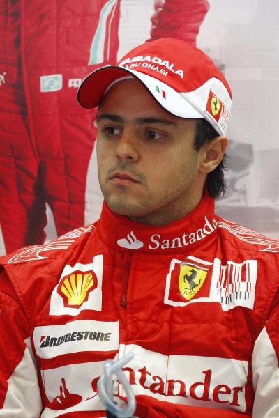 Felipe Massa (BRA) Ferrari.  Formula One World Championship, Rd 14, Italian Grand Prix, Practice Day, Monza, Italy, Friday 10 September 2010.