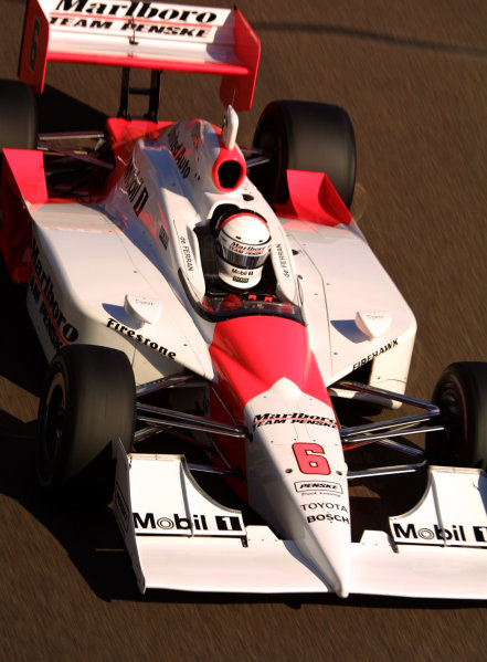 2003 IRL IndyCar Test in the West, February 6-8, 2003 Phoenix International Raceway, Phoenix, Arizona, USA.Gil de Ferran (Marlboro Team Penske).-Phillip Abbott/USALAT Photographic