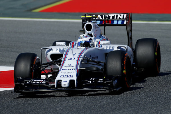 Susie Wolff (GBR) Williams FW37 at Formula One World Championship, Rd5, Spanish Grand Prix Practice, Barcelona, Spain, Friday 8 May 2015.