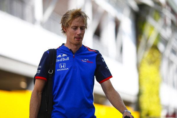 Brendon Hartley, Toro Rosso.