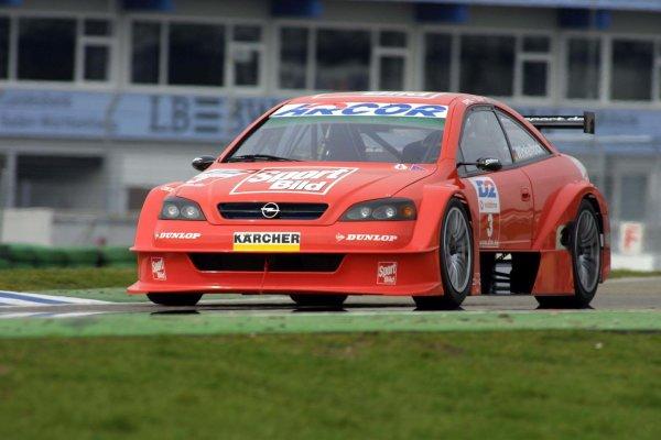 2001 DTM TestingHockenheim, Germany. 20th March 2001.Jo Winkelhock - Opel.World Copyright: LAT Photographicref: 5 mb Digital Image