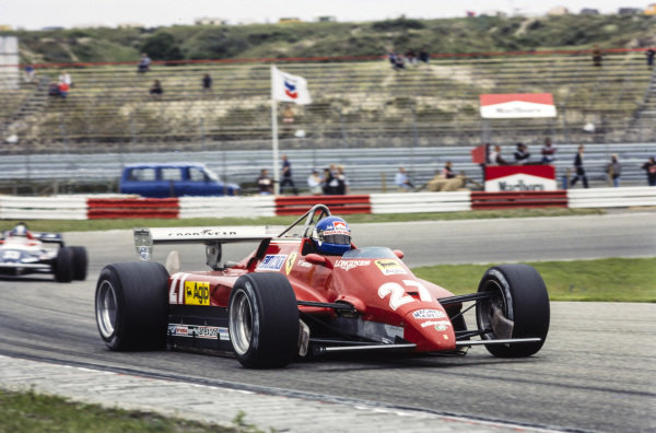 Patrick Tambay, Ferrari 126C2.