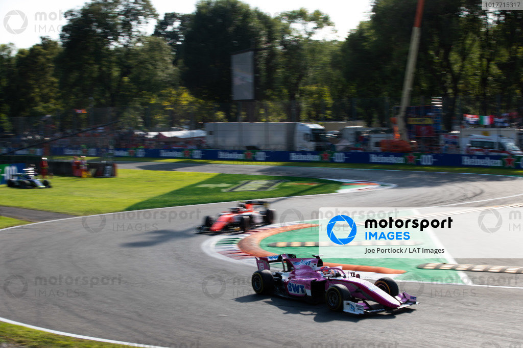 AUTODROMO NAZIONALE MONZA, ITALY - SEPTEMBER 07: Tatiana Calderon (COL, BWT ARDEN) during the Monza at Autodromo Nazionale Monza on September 07, 2019 in Autodromo Nazionale Monza, Italy. (Photo by Joe Portlock / LAT Images / FIA F2 Championship)