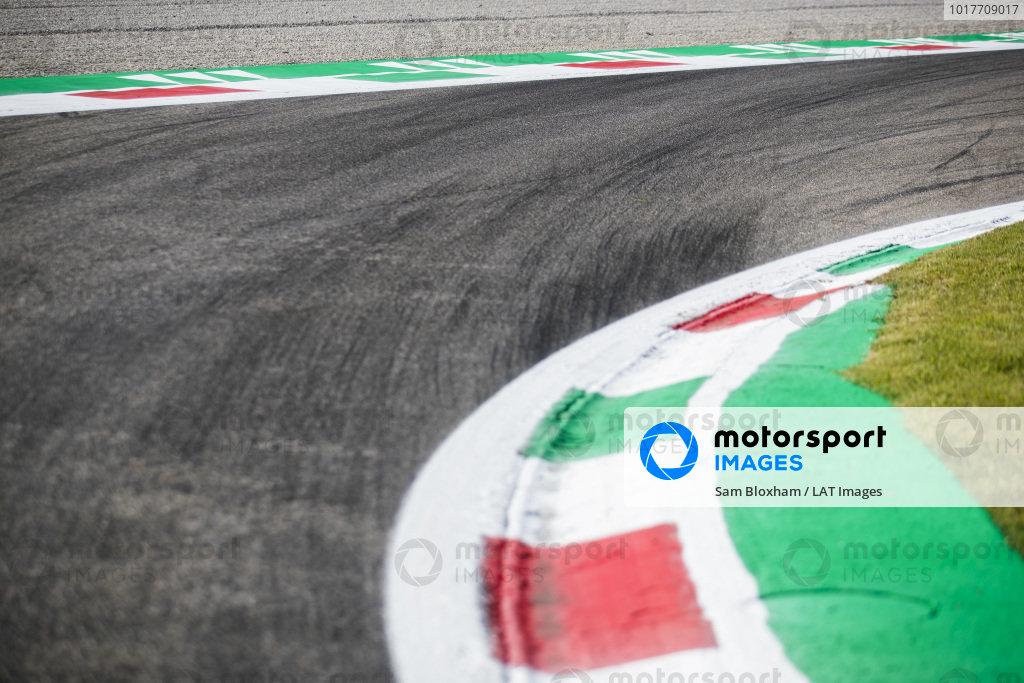 AUTODROMO NAZIONALE MONZA, ITALY - SEPTEMBER 05: Track Detail during the Monza at Autodromo Nazionale Monza on September 05, 2019 in Autodromo Nazionale Monza, Italy. (Photo by Sam Bloxham / LAT Images / FIA F2 Championship)