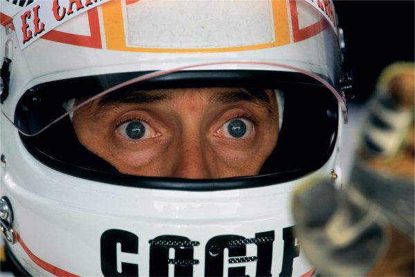 2003 Racing Past... Exhibition 1993 British Grand Prix, Silverstone. Pierluigi Martini (Minardi M193-Ford). World Copyright - LAT Photographic Exhibition ref: a043