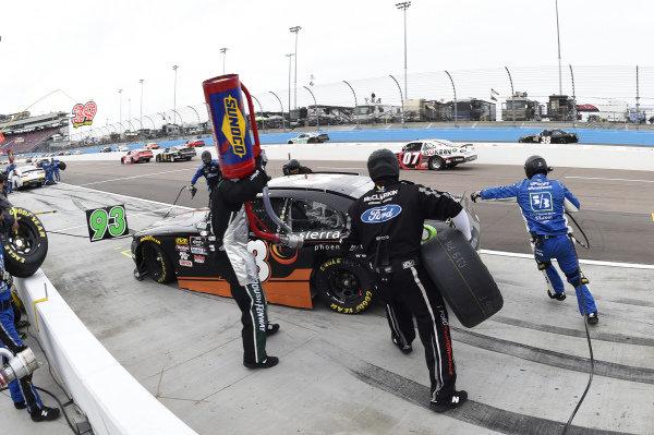 #93: Josh Bilicki, RSS Racing, Chevrolet Camaro RSS Racing, makes a pit stop