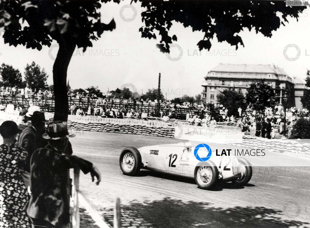 1936 Hungarian Grand Prix.