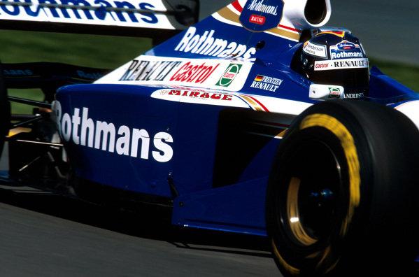 Albert Park, Melbourne, Australia.7-9 March 1997.Heinz-Harald Frentzen (Williams FW19 Renault) 8th position.Ref-97 AUS 20.World Copyright - LAT Photographic
