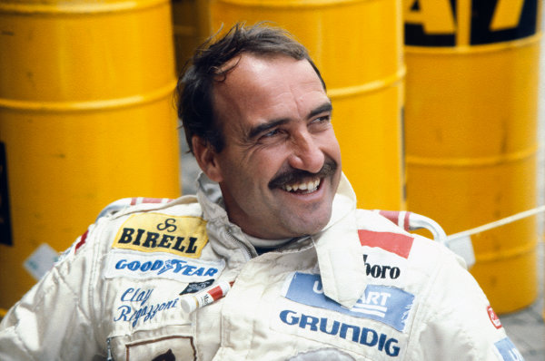Buenos Aires, Argentina. 11-13 January 1980. Clay Regazzoni (Ensign N180-Ford), retired, portrait.  World Copyright: LAT Photographic. Ref:  80ARG