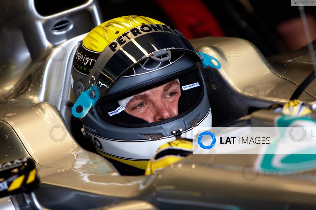Albert Park, Melbourne, Australia 24th March 2011. Nico Rosberg, Mercedes GP W02. Portrait. Helmets.  World Copyright: Steve Etherington/LAT Photographic ref: Digital Image SNE23081