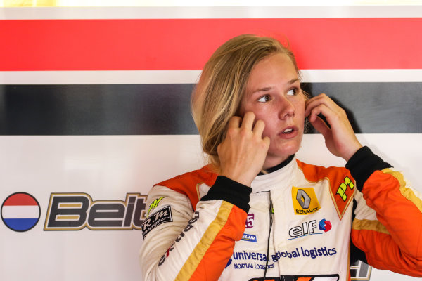 BUDAPEST (HUN) JUNE 12-14 2015 - World series by Renault 2015 at the Hungaroring. Beitske Visser #16 AVF. Portrait. © 2015 Sebastiaan Rozendaal / Dutch Photo Agency / LAT Photographic