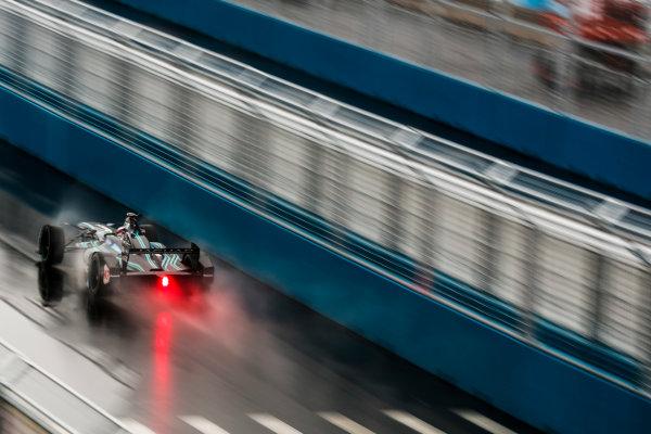2016/2017 FIA Formula E Championship. Round 9 - New York City ePrix, Brooklyn, New York, USA. Friday 14 July 2017. Adam Carroll (GBR), Jaguar Racing, Spark-Jaguar, Jaguar I-Type 1. Photo: Sam Bloxham/LAT/Formula E ref: Digital Image _J6I2912