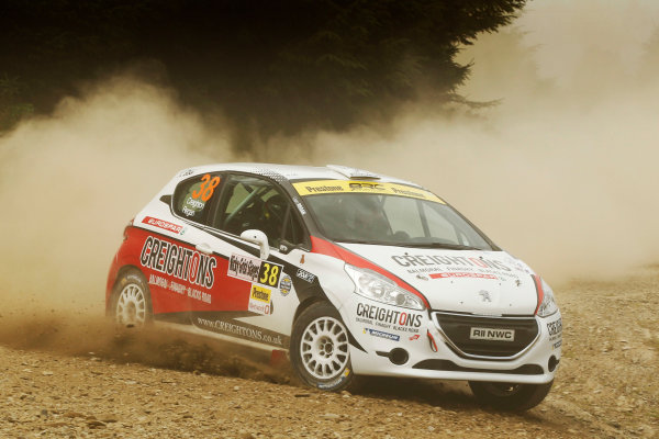 2017 British Rally Championship, Nicky Grist Stages, 8th-9th Juy 2017, William Creighton / Liam Regan Peugeot 208 R2 World copyright. JEP/LAT Images