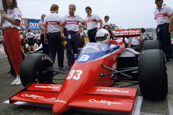 Monza, Italy. 6-8 September 1985. Rd 12.