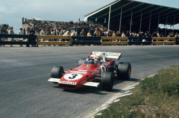 Dutch Grand Prix.  Zandvoort, Holland. 18-20th June 1971.  Clay Regazzoni, Ferrari 312B2.  Ref: 71HOL12. World Copyright: LAT Photographic