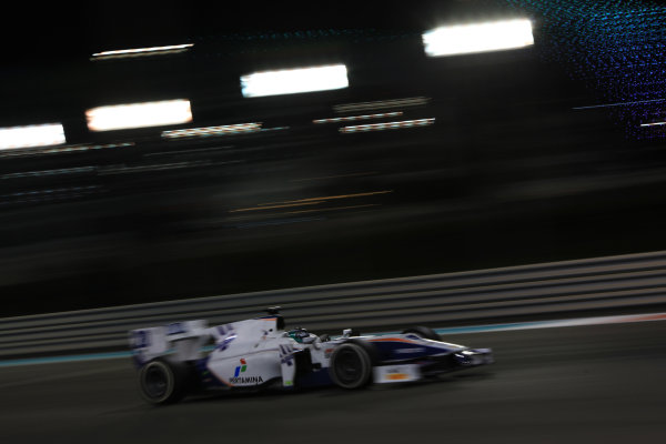 2013 GP2 Series Test 3 Yas Marina Circuit, Abu Dhabi, UAE. Day 3, Thursday 7th November 2013. Giovanni Venturini (ITA, Trident Racing)  World Copyright: Sam Bloxham/LAT Photographic. ref: Digital Image IMG_6036