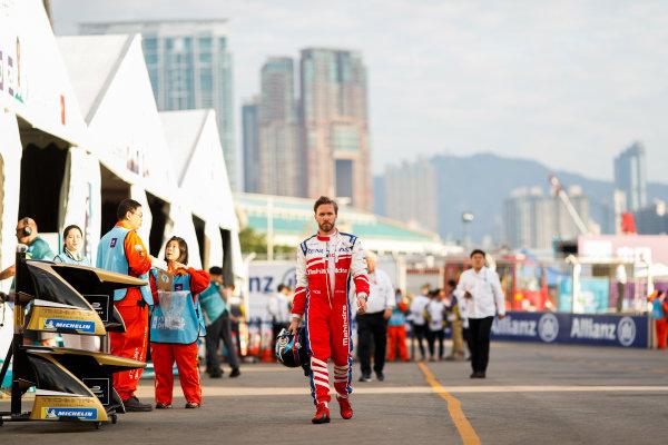 2017/2018 FIA Formula E Championship. Round 1 - Hong Kong, China. Saturday 02 December 2017. Nick Heifeld (GER), Mahindra Racing, Mahindra M4Electro. Photo: Alastair Staley/LAT/Formula E ref: Digital Image _ALS5482